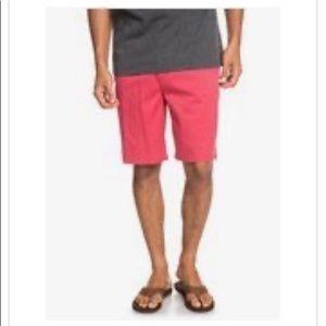 Men's Quicksilver Waterman Chino shorts Size 38